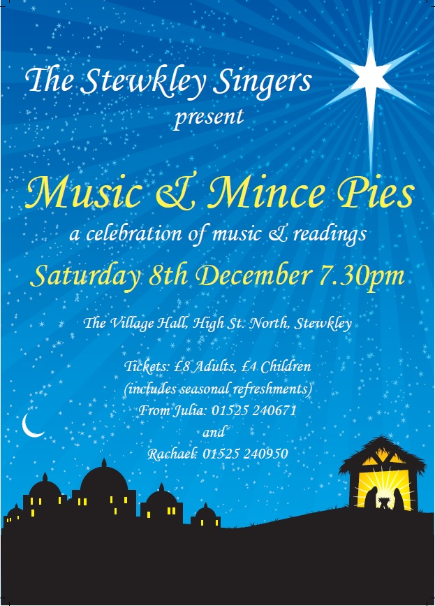 Music and Mince Pies concert 2018